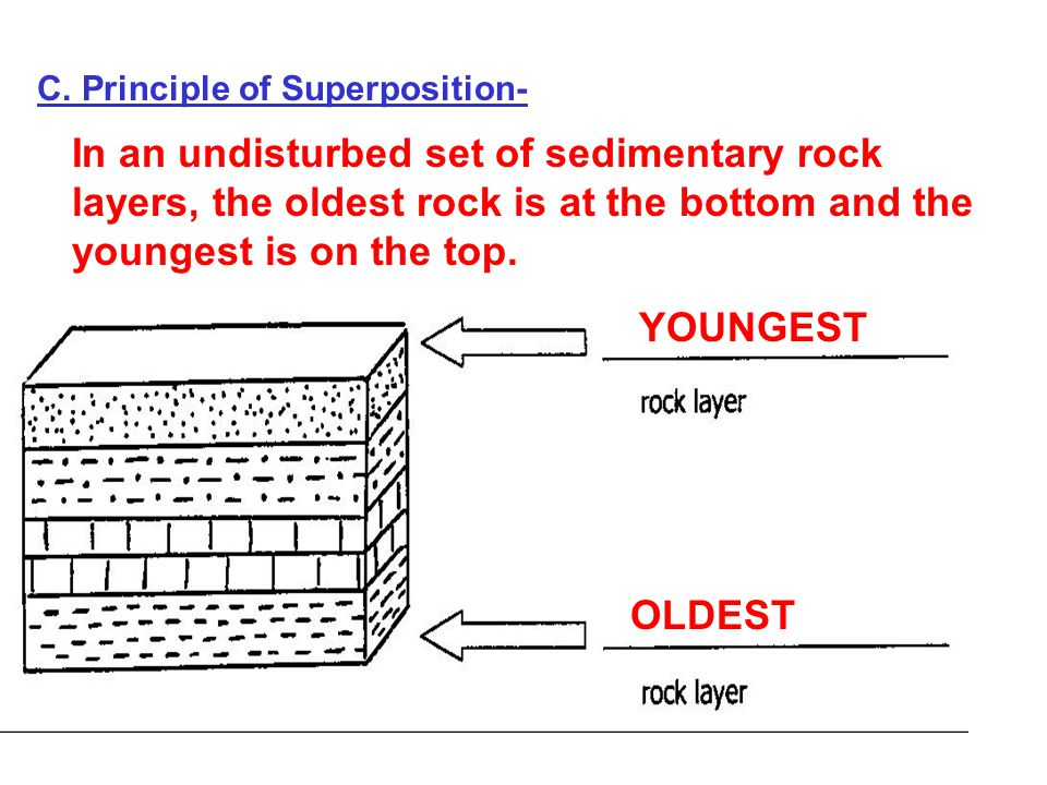 Original horizontality relative dating fossils 4
