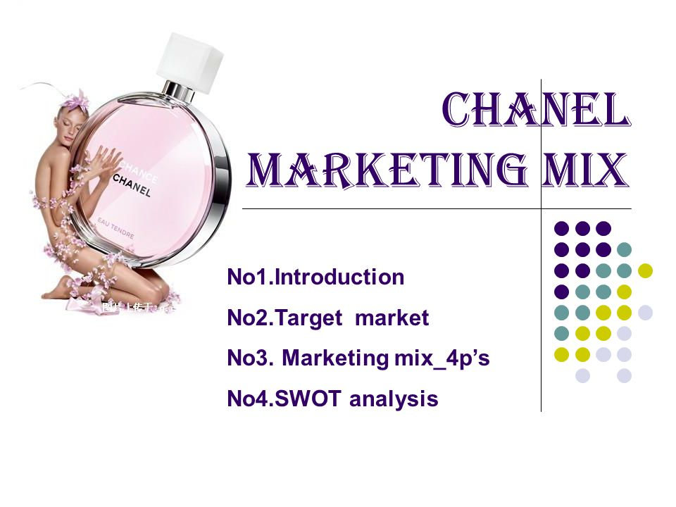 marketing mix coco chanel Coco chanel revolutionised the way women smell with her fragrance chanel no 5 coco chanel revolutionised the way women smell with her fragrance chanel no 5 - worn by marilyn monroe was an instant success, partly due to some of coco's ingenious marketing tricks.