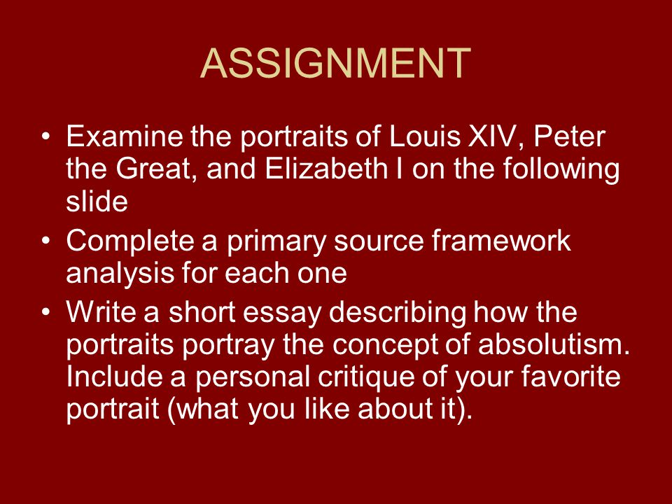 comparison of charles i and louis xiv essay Charles i personal rule essay to so there charles i personal rule – essay by comparison of charles i and louis xiv essay example for free a.