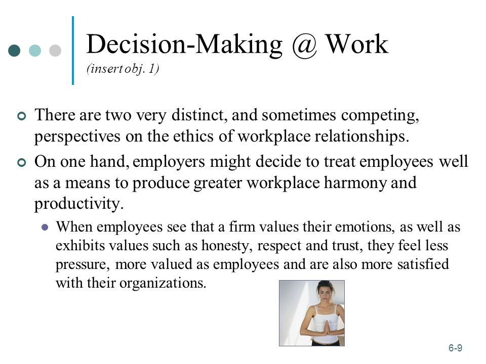 workplace dating ethics Worse yet, a supervisor using such a dating app may come across the matched  profile of a subordinate employee the situation is freighted.