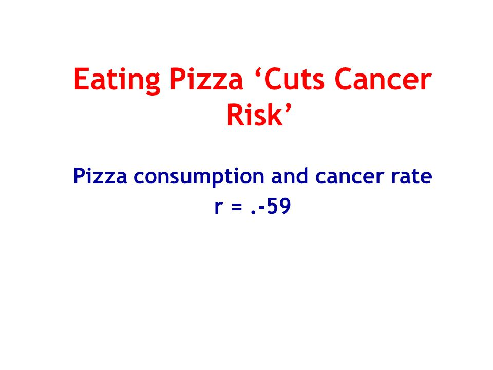 Eating Pizza 'Cuts Cancer Risk' Pizza consumption and cancer rate