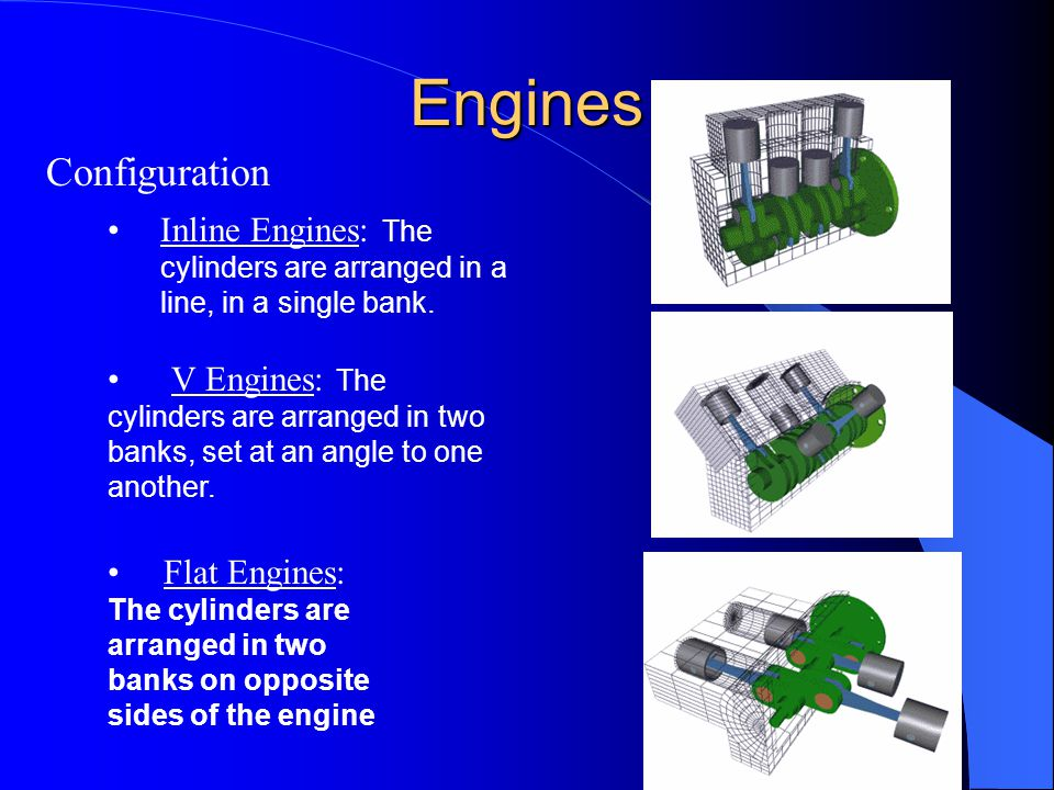 Engines Configuration