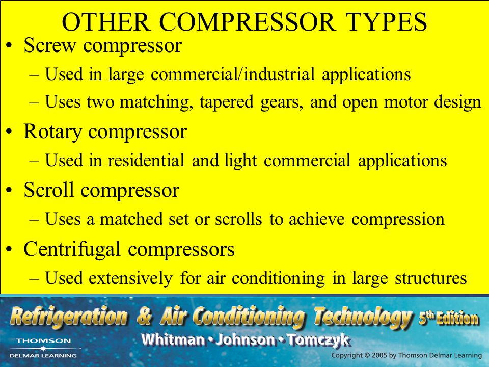 OTHER COMPRESSOR TYPES