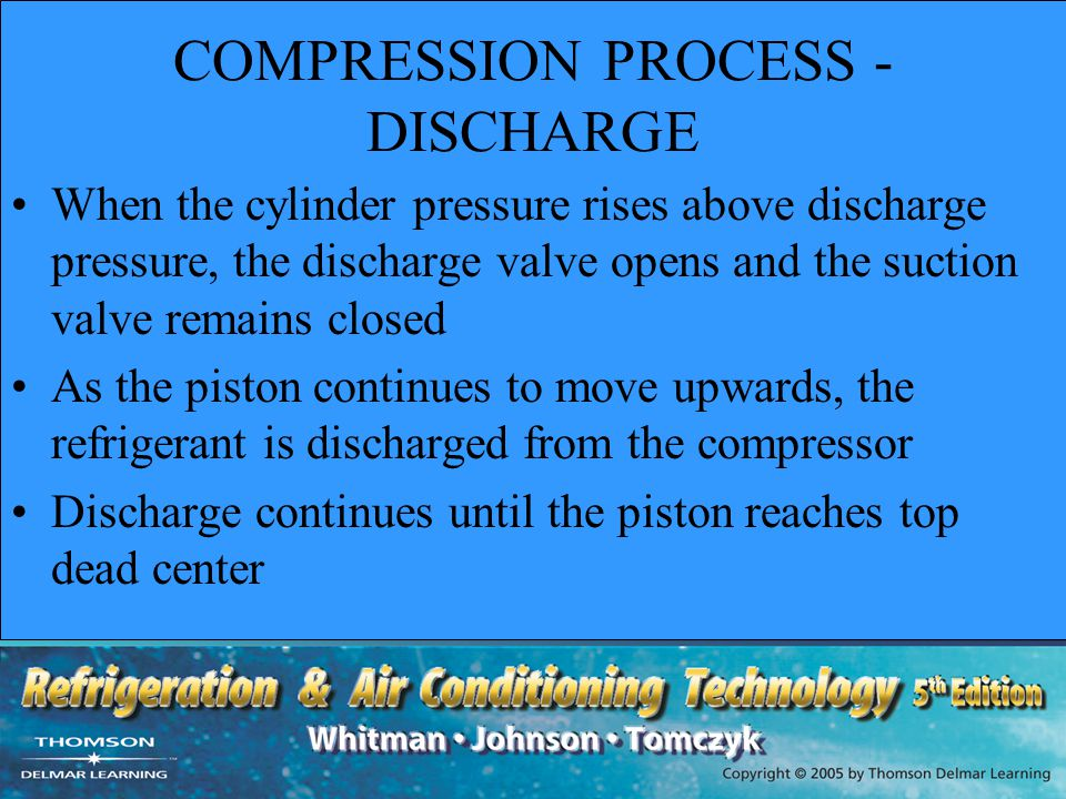 COMPRESSION PROCESS - DISCHARGE