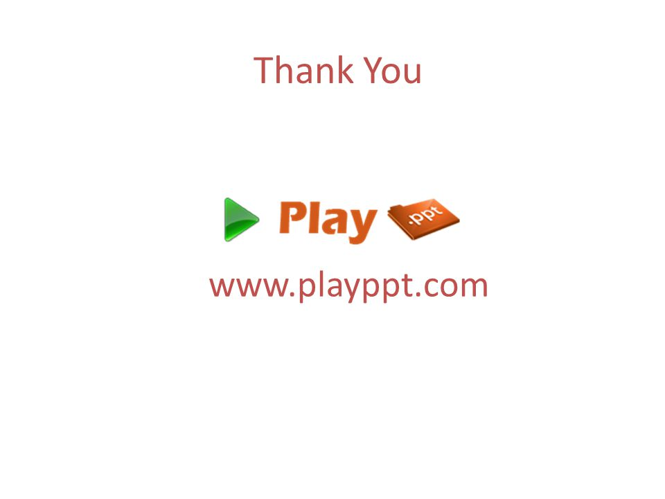 Thank You www.playppt.com