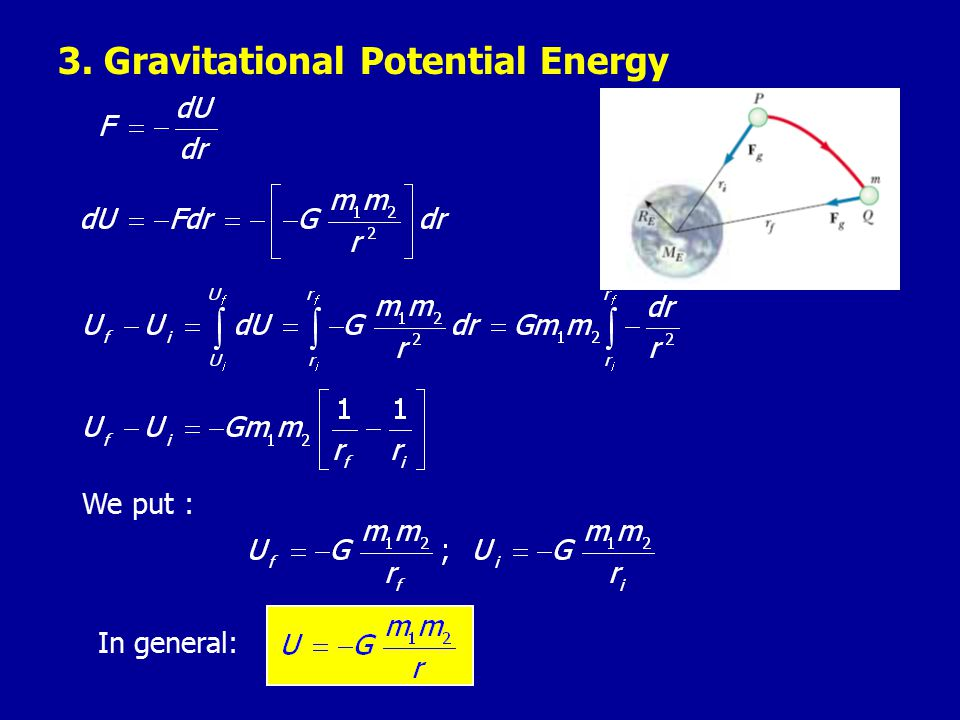 3. Gravitational Potential Energy