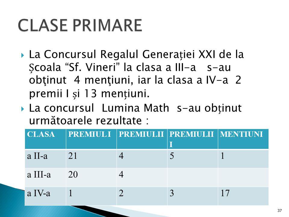 CLASE PRIMARE