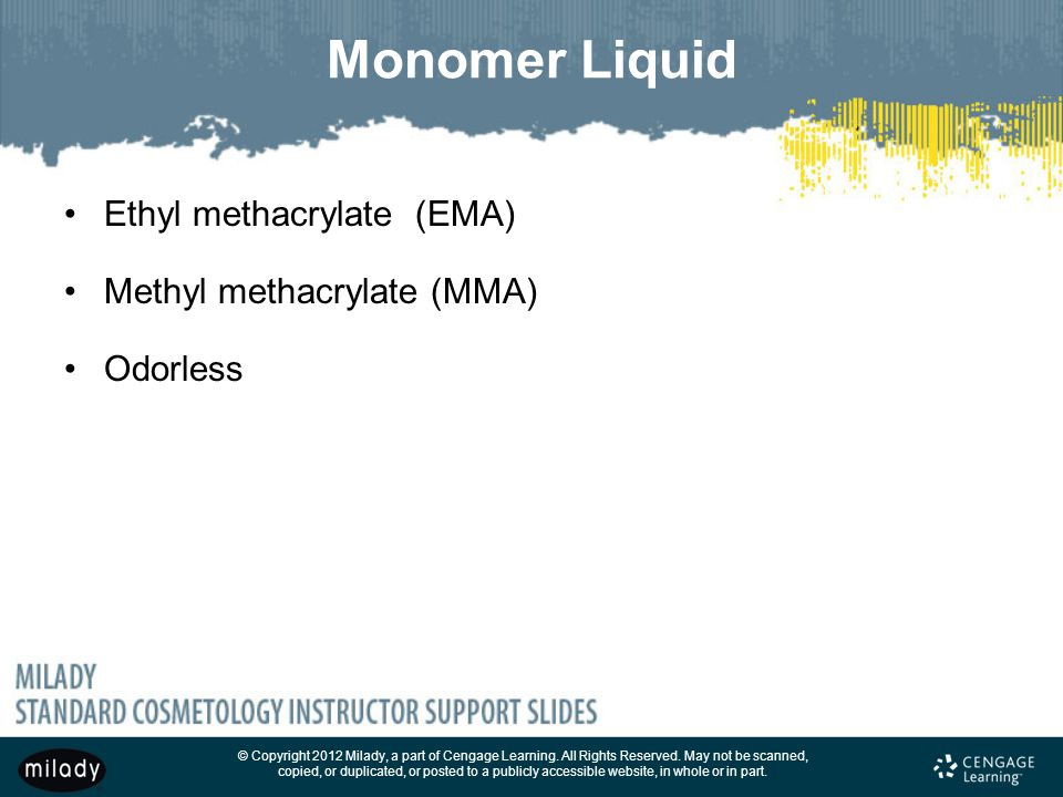 Chapter 28 Monomer Liquid and Polymer Powder Nail Enhancements - ppt ...