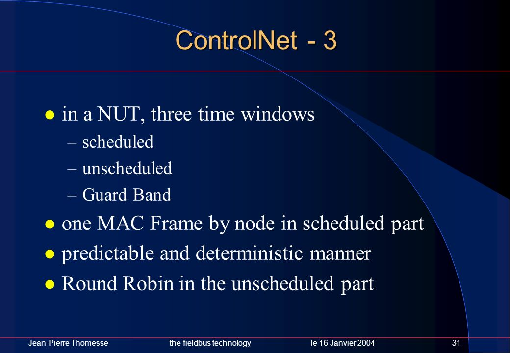 ControlNet - 3 in a NUT, three time windows