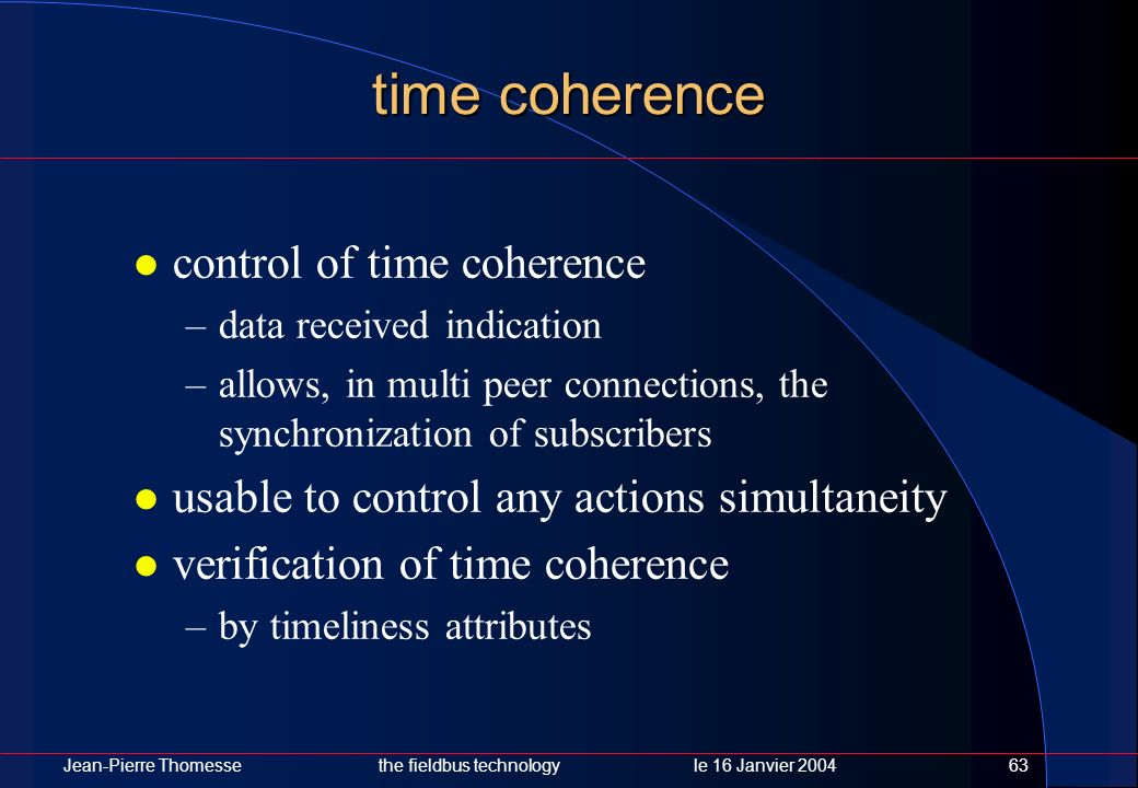 time coherence control of time coherence