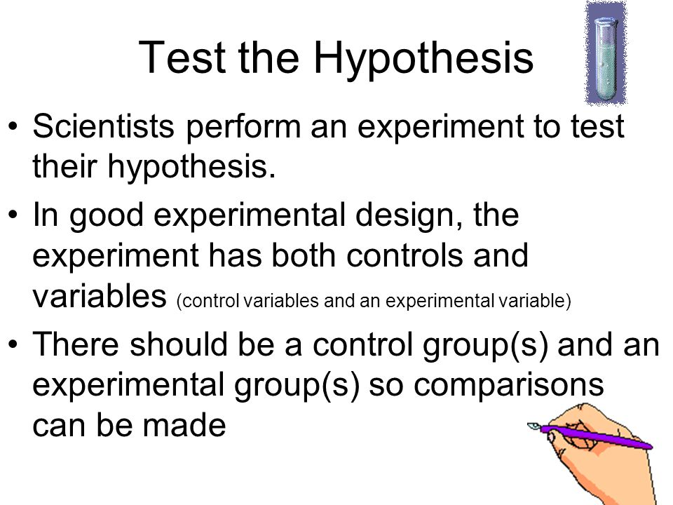 experimental design hypothesis testing Sometimes a study is designed to be exploratory (see inductive research)  the  way we would formally set up the hypothesis test is to formulate two hypothesis.