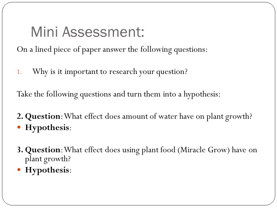 100 1 research questions u0026 hypotheses validity