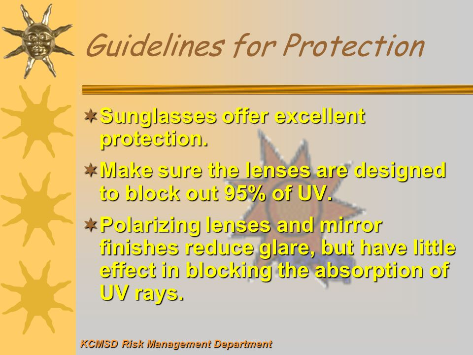 Guidelines for Protection