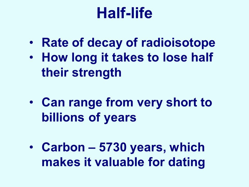 the half life of a radioisotope Thus, half-life is an estimate of how long it will take a sample of a radioactive element to undergo radioactive decay half-life is used as a measurement to estimate the probability that atoms of a radioactive element will go through decay within that amount of time and can therefore determine how stable a radioisotope is.