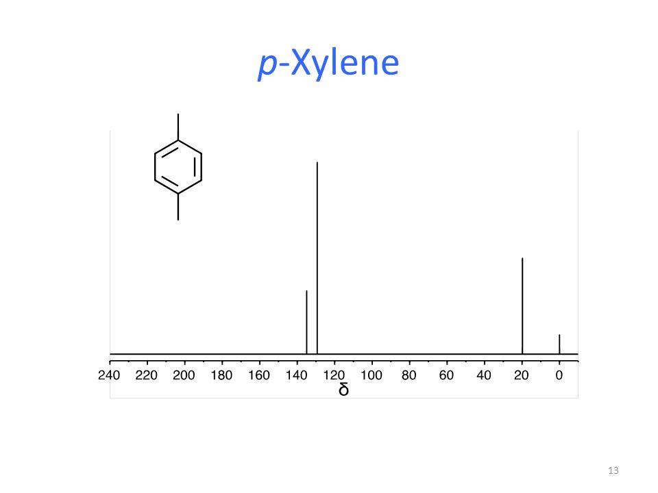 P Xylene Structure Chapter 12 Spectroscop...