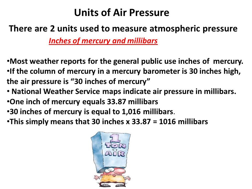 Air Pressure Units : Atmospheric gases mini lab ppt video online download