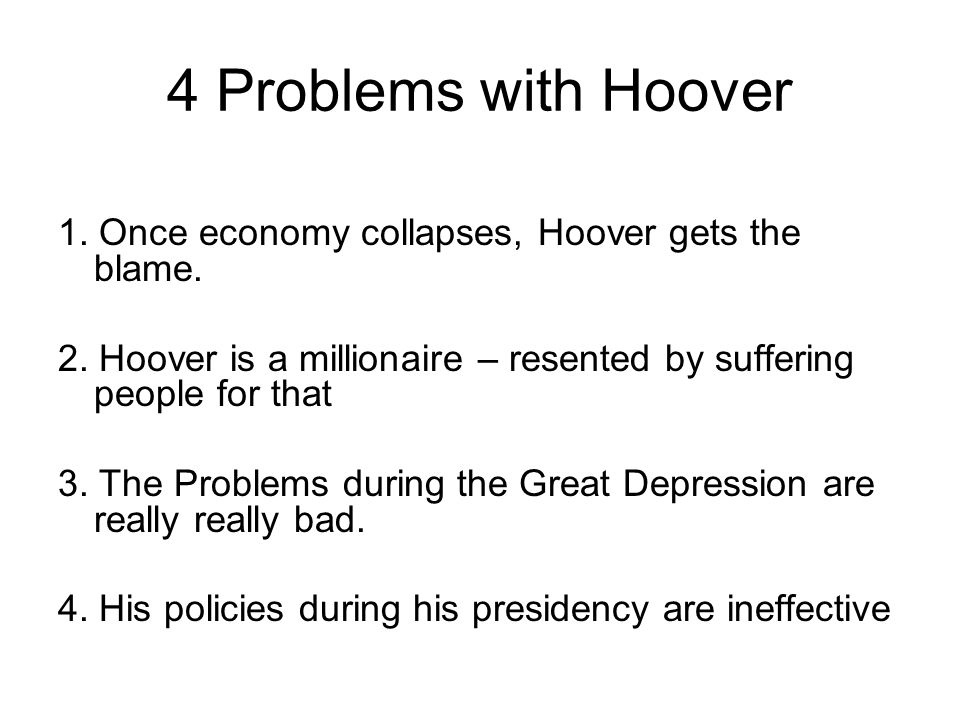 hoover roosevelt and the great depression essay Read this full essay on fdr and the great depression  so along came democratic franklin delano roosevelt who beat out than republican president herbert hoover by.