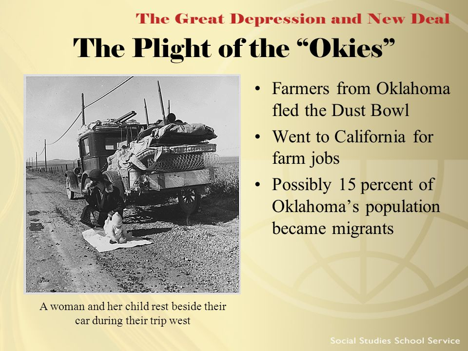 the farmers plight during the great depression Many lost their jobs to whites that had been displaced by the great depression the plight of minorities was often during the dust bowl, many farmers became.