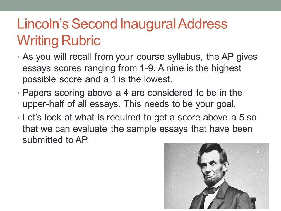 thesis of lincolns first inaugural address In his first inaugural address, abraham lincoln explained why his duty   download here, along with a written summary and other resources.
