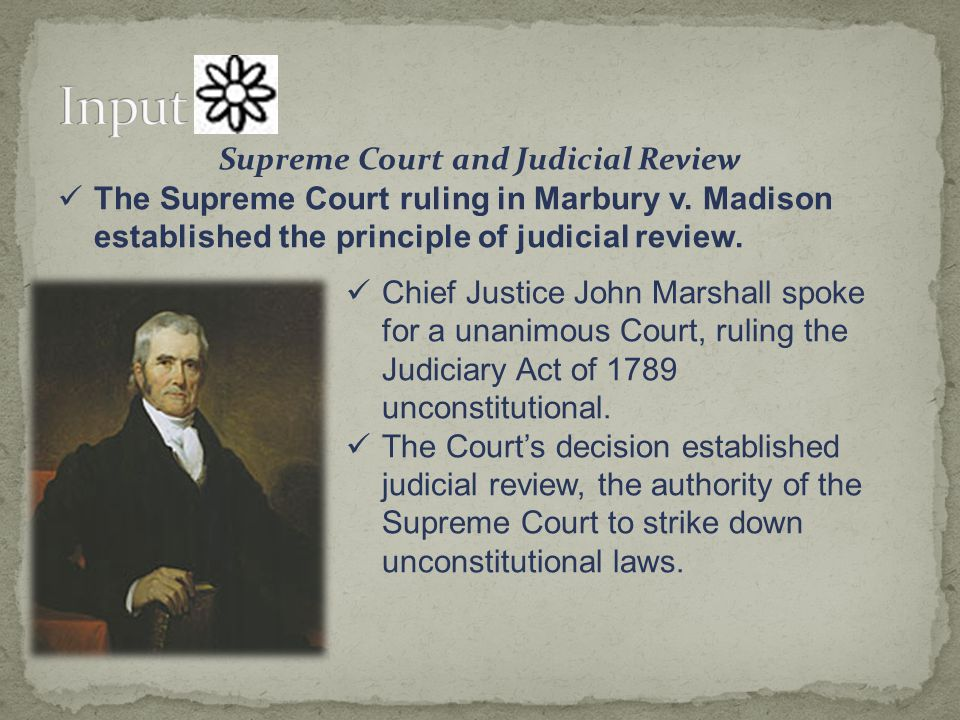 Supreme Court and Judicial Review