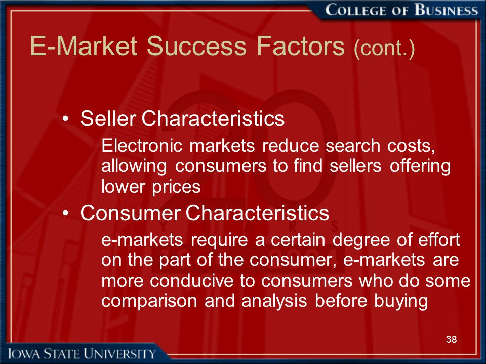 key success factors for consumer electronic industry Winning in india's retail sector factors for success , consumer durables and electronics are low in rural india key success factors are.