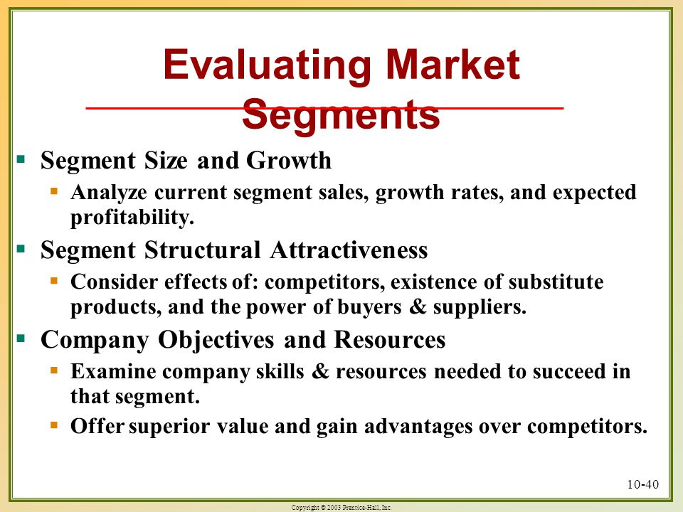 identifying market segments and targets pdf