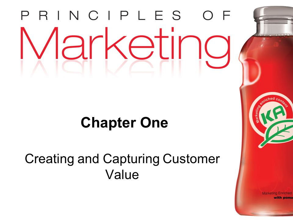 Creating and Capturing Customer Value