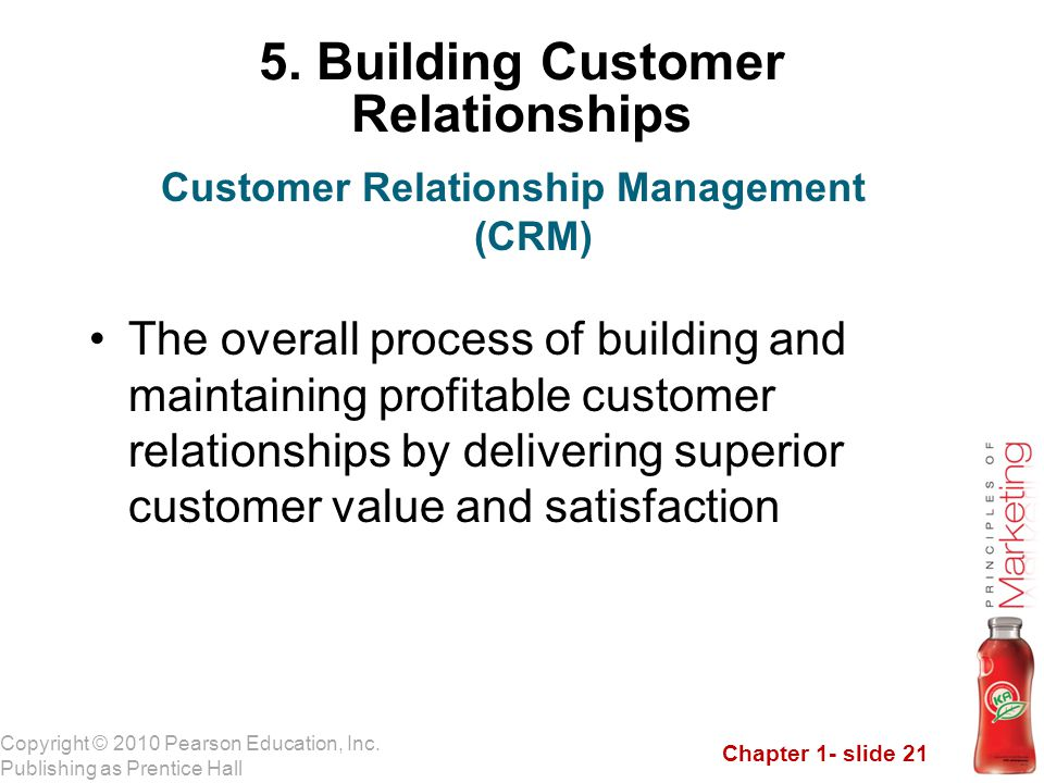 5. Building Customer Relationships
