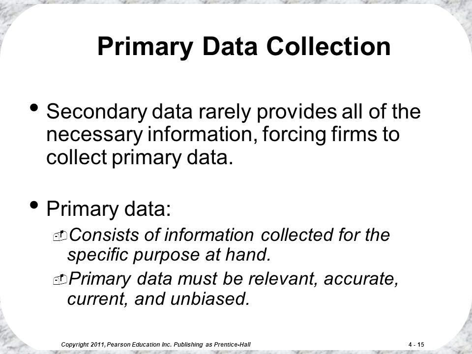primary data collection We present a web-based user-configurable primary data collection tool • to  collect data from non-cooperative sources, control flow is recovered from data  flow.