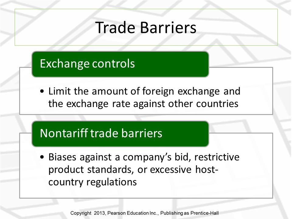 currency fluctuation a trade barrier Theory of international trade overall barriers to trade have been lowered since world war ii exchange rate fluctuations.