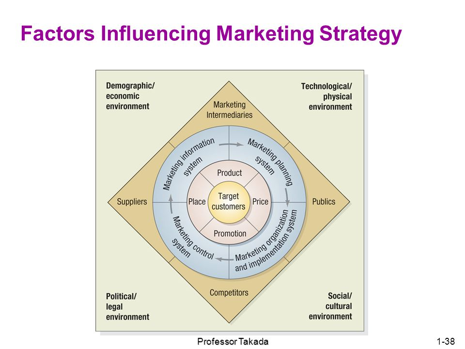 Factors Influencing Marketing Strategy