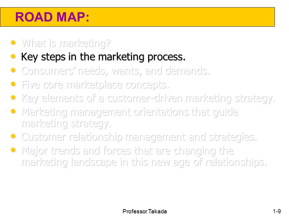 marketing management orientations that guide marketing strategy