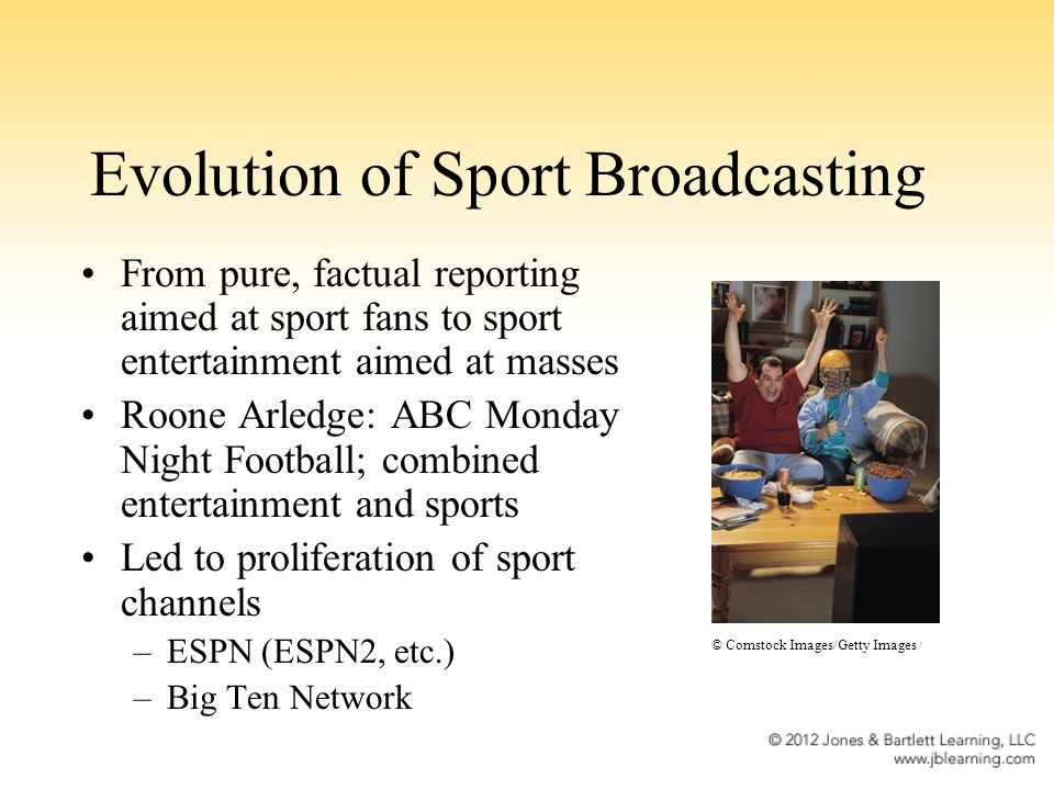 the evolution of advertising in sports The scientific reason men like sports more  who are still predominantly female, have less free time for sports  so if it's evolution that's behind the.