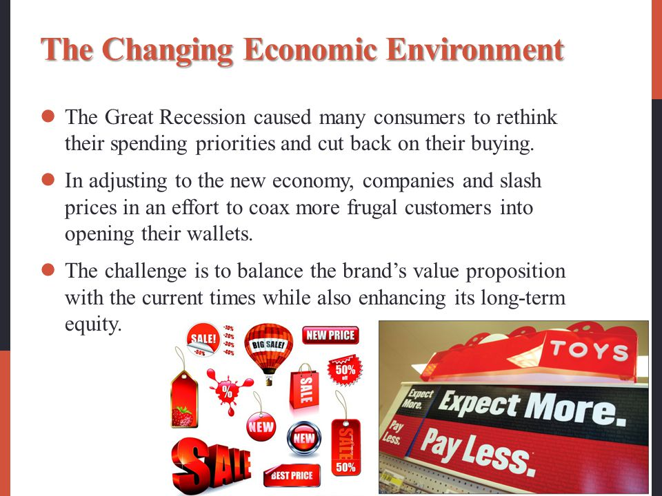 The Changing Economic Environment