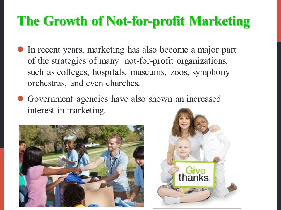 The Growth of Not-for-profit Marketing