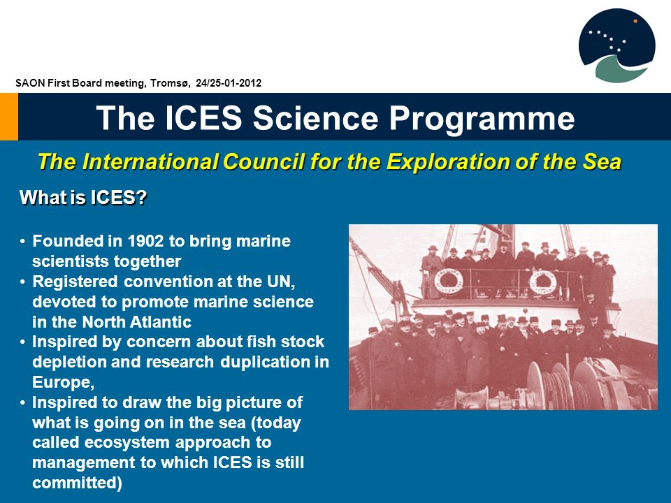 The International Council for the Exploration of the Sea
