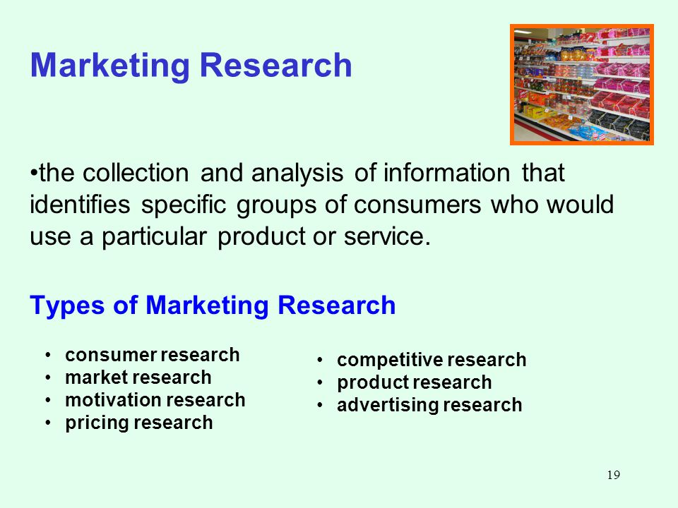 impacts of marketing research to marketer There are a lot of types of market research in this surveygizmo blog post, learn what the differences are and how to use them.