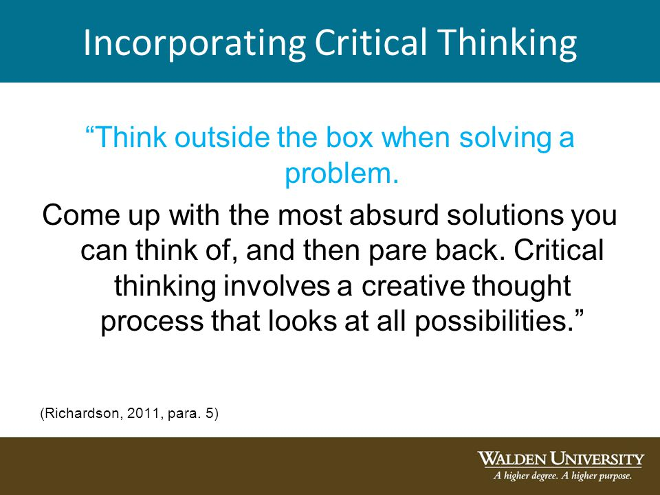critical thinking articles 2011 As we go further into the next generation of kids, we're seeing less and less of them enabled with the ever important skills of logic and critical thinking.