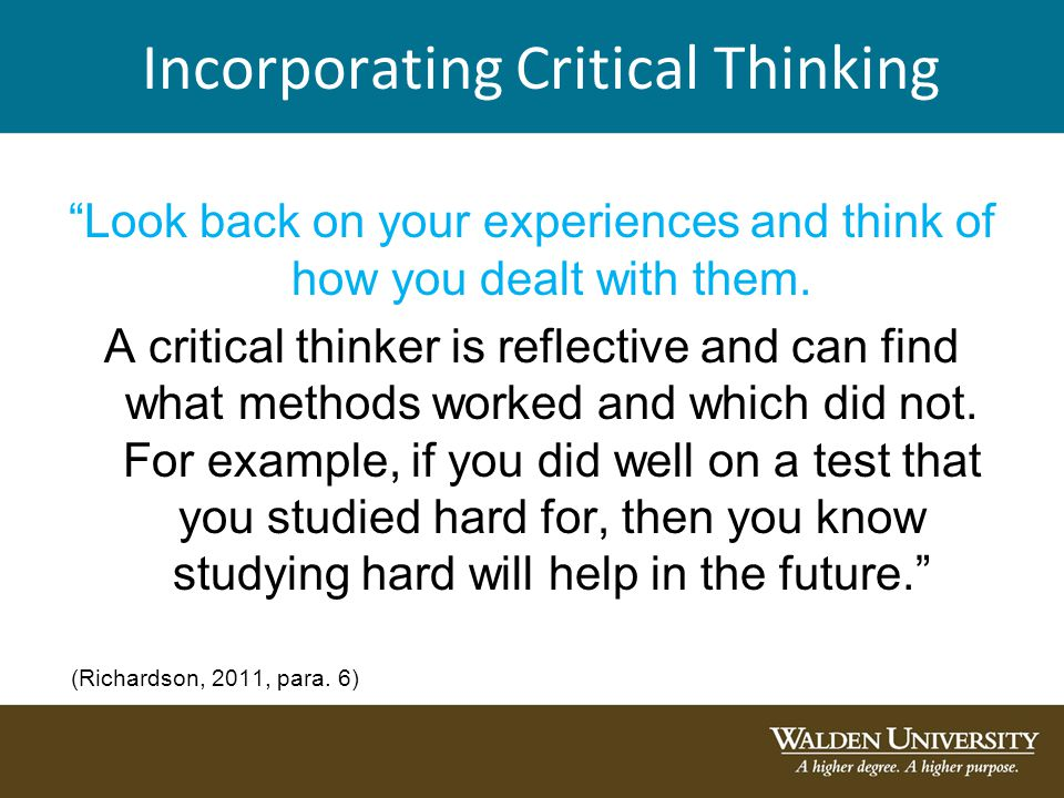 Is critical thinking hard