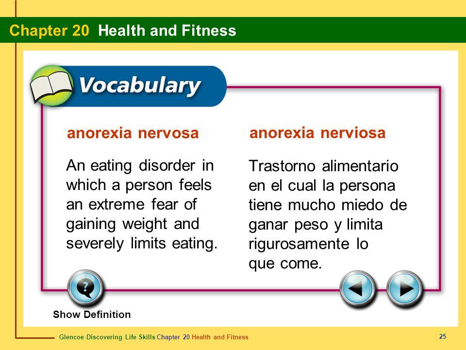 anorexia nervosa anorexia nerviosa