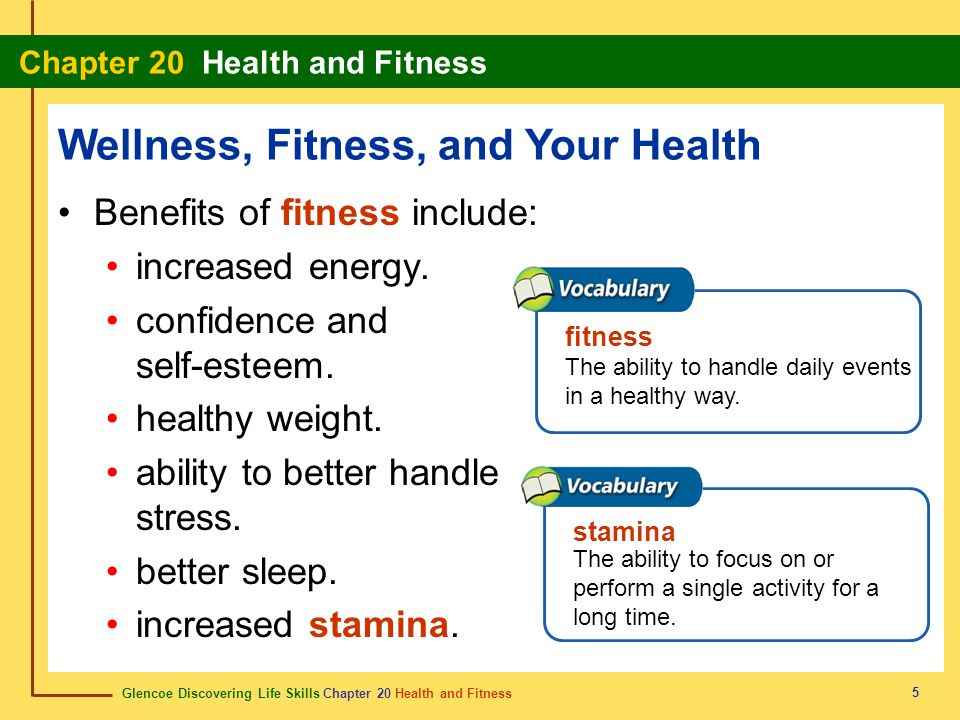 Wellness, Fitness, and Your Health
