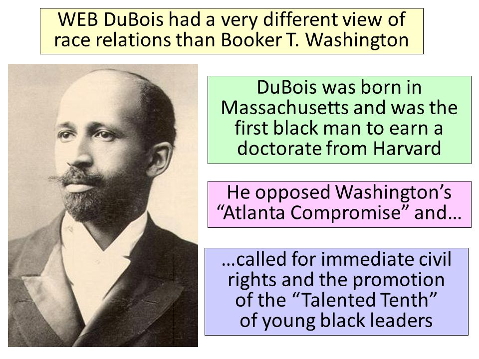 Booker T Washington Race Problems Essay Booker T Washington