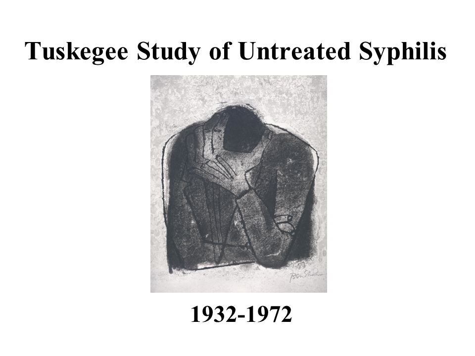 the tuskegee syphilis study 3 essay A study about syphilis which is regarded as highly unethical why was the tuskegee syphilis study continued when they knew the cure.