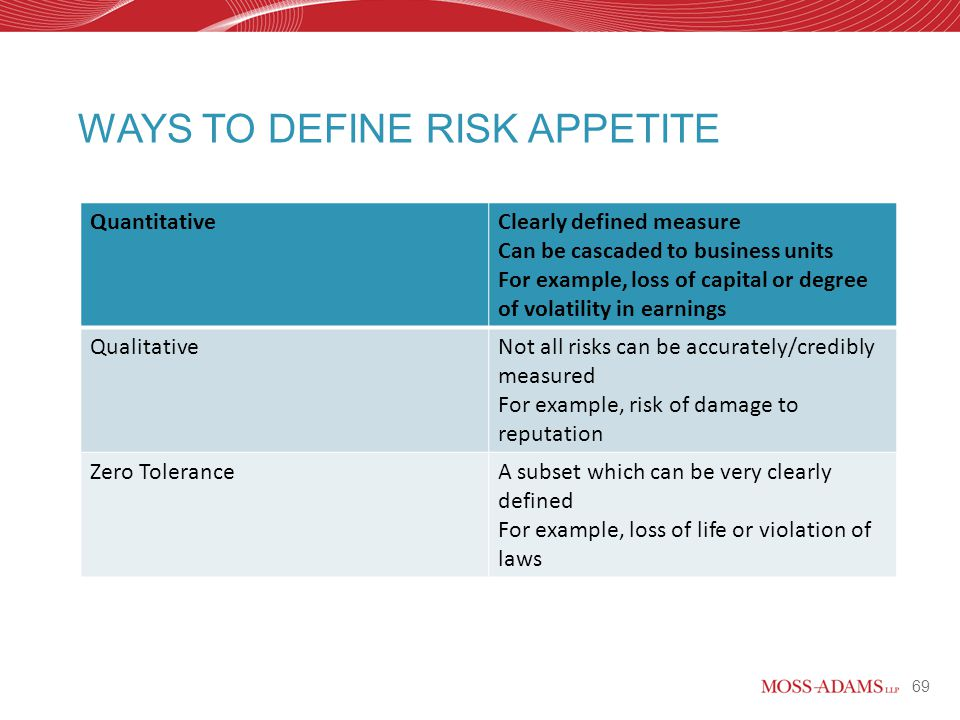 Magnificent risk appetite statement template images for Risk appetite template