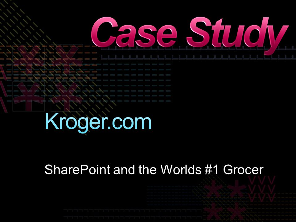 SharePoint and the Worlds #1 Grocer