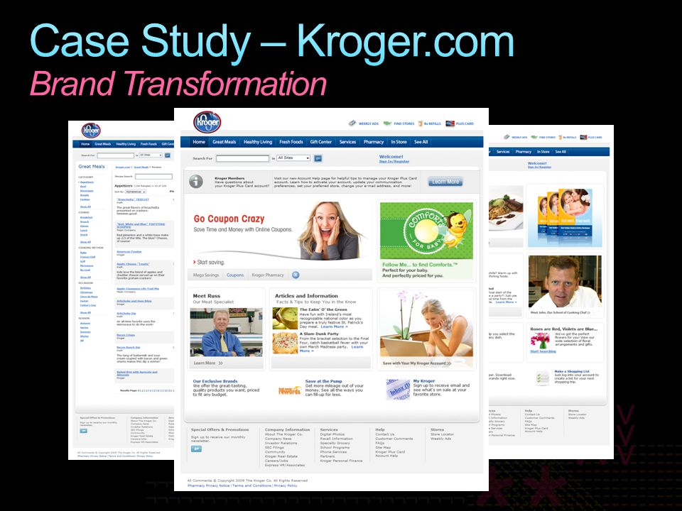 Case Study – Kroger.com Brand Transformation