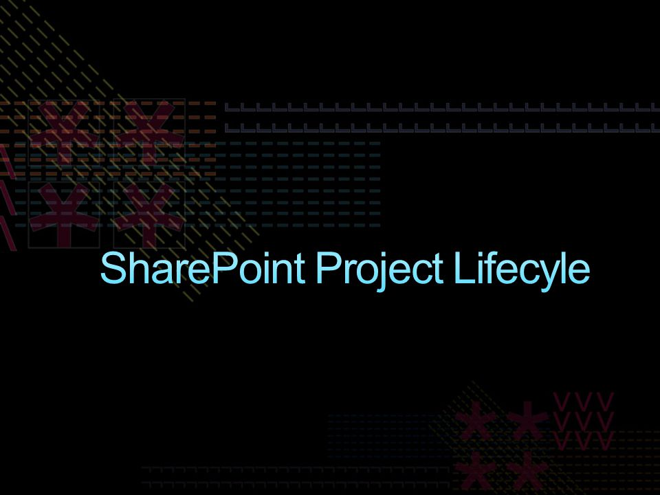 SharePoint Project Lifecyle
