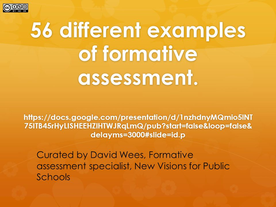 Assessment For Learning  Ppt Download