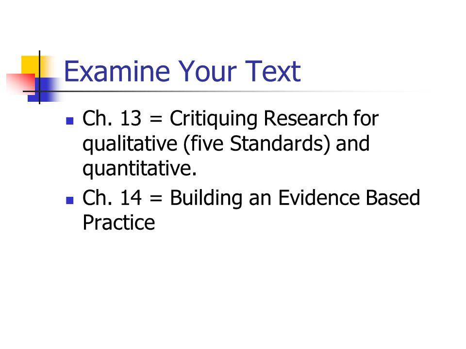 understanding nursing research building an evidence based practice pdf