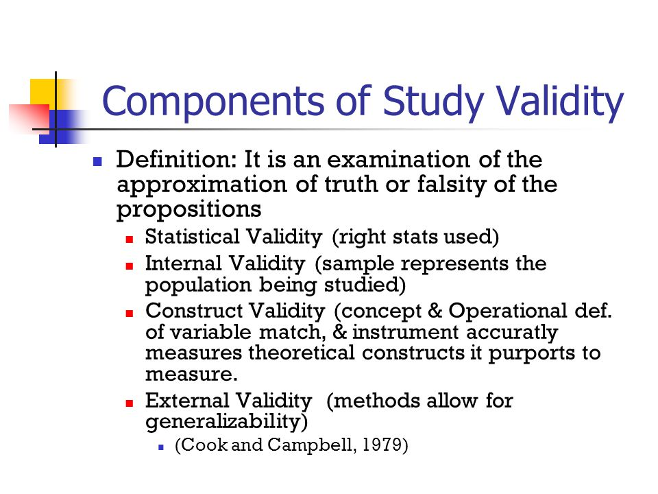validity of research Validity (a concept map shows the various types of validity) a instrument is valid only to the extent that it's scores permits appropriate inferen.